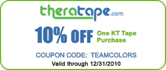 KT Tape Team Colors Promotional Coupon