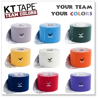 KT Tape Team Colors Kinesiology Tape