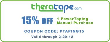 Save 15% on Rock Tape Power Taping Manual